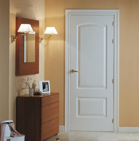 Puertas marco puertas de interior - Puertas blancas lacadas ...