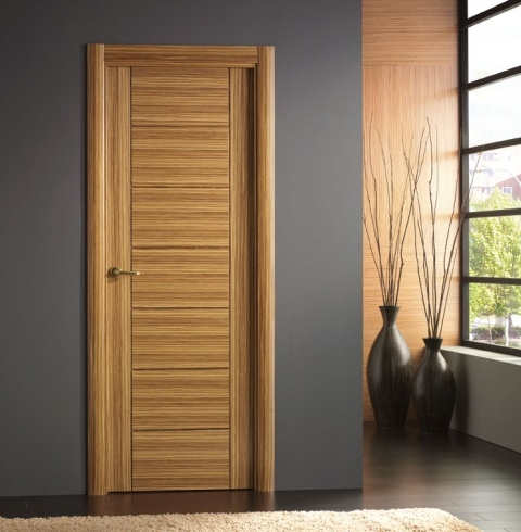 Puertas marco puertas de interior for Puertas roble modernas